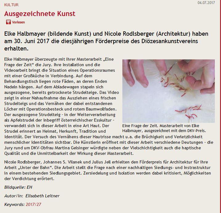 8-A-2017-Beitrag Kirchenzeitung-Diözesankunstpreis Linz